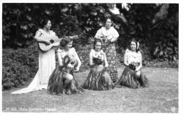 Hula Dancers En 1947 - Etats-Unis