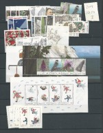 2009 MNH Denmark, Dänemark, Year Collection Spedial Issues Only With Extra's , Postfris - Volledig Jaar