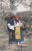 NATIONAL COSTUME UKRAINE,CENSORED K.u.K. DIV. SANKOL No.27 - Ukraine