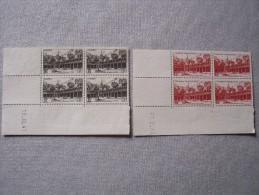 HOTEL DIEU De Beaune- N° 499 Et 539- Coins Datés Neufs Sans Gomme - 1940-1949