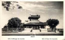 INDOCHINE VIETNAM HUE SALLE D'AFFICHAGE DES LAUREATS - Viêt-Nam
