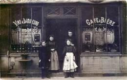 CARTE PHOTO DEVANTURE DE COMMERCE CAFE BAR RESTAURANT  CAFE ET BIERE - Photos