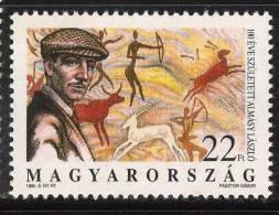 HUNGARY - 1995. Laszlo Almasy,Sahara Researcher,Birth Centenary / Cave Painting MNH!!! Mi:4354. - Ungebraucht