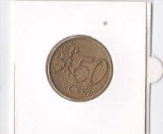 Pièce 0,50  € ( 50 Cent) AUTRICHE 2002 - Monnaies & Billets