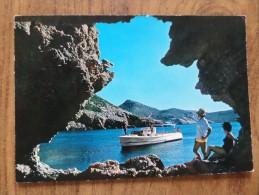 49826 POSTCARD: SPAIN: ISLAS BALEARES: ISLA DE CABRERA. Cueva De La Cala De Santa Maria. - Cabrera