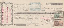 Lettre Change 31/3/1932 A LEFORT Garage Du Berry CHATEAUROUX Indre - La Caillaudière Vendoeuvres - Lettres De Change
