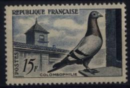 N° 1091 - X X - ( F 392 ) - ( Colombophilie ) - France