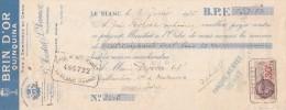 Lettre Change 7/1/1936 MESTAL JEANNOT Quinquina Brin D'Or Vins Kirsch LE BLANC Indre Pour La Caillaudière Vendoeuvres - Lettres De Change