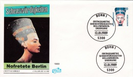 Germany FDC 1989 Nofretete Berlin  (G80-27) - FDC: Fogli