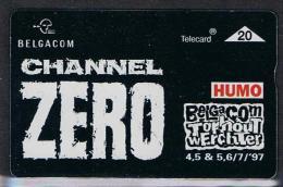 Belgacom Channel Zero Humo Torhout  Werchter '97 Serienummer 106L - Belgique