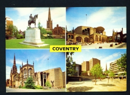ENGLAND  -  Coventry  Multi View  Unused Postcard As Scan - Coventry