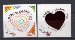 FRANCE - 2011 - SAINT VALENTIN  -  N° 510/511 - NEUF*** - Adhésifs (autocollants)