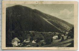 Görbersdorf I. Schles. Rüttnergrund 1922Verlag: Herm. Adam, Freiburg I. Schles. Nr.3236  Ohne Frankatur,  Stempel, Karte - Schlesien