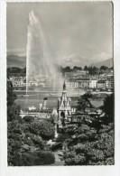 SWITZERLAND - AK 251281 Genève - Le Monument Brunswick Et Le Jet D'eau - GE Geneva