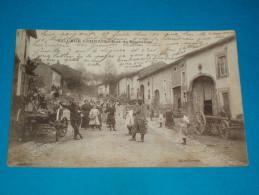 "54 ) Village Lorrain : Neufmaisons "" Rue De Bruxelle  - Année 1916 - EDIT : Perraud - Other Municipalities"