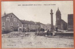 Carte Postale 70. Meurcourt  Place Du Centre   Trés Beau Plan - Other Municipalities