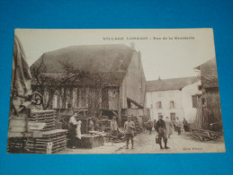 "54 ) Village Lorrain : Neufmaisons "" Rue De La Brosserie  - Année 1916 - EDIT : Perraud - Other Municipalities"