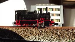 SCALA N ECHELLE - STEAM LOCO VAPORE Minitrix 12837 Locomotiva, Tenderlok, Br 89 710 - Locomotive