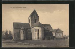 CPA Brulon, Eglise - Brulon