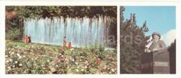 Park - Fountains - Monument To Kazakh Poet Jambyl Jabayev - Almaty - Alma-Ata - 1980 - Kazakhstan USSR - Unused - Kazakhstan