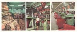 Carpet Factory - Production And Knitting Association - Boot Factory  Almaty - Alma-Ata - 1980 - Kazakhstan USSR - Unused - Kazakhstan