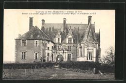 CPA Brulon, Château De Viré - Brulon