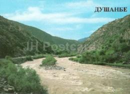 Varzob Gorge - Recreation Place - Mountain River - Dushanbe - 1985 - Tajikistan USSR - Unused - Tadjikistan
