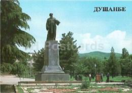Monument To The Poet Rudagi - Dushanbe - 1985 - Tajikistan USSR - Unused - Tadjikistan