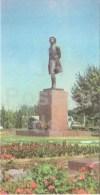 Monument To Russian Poet Pushkin - Tashkent - Toshkent - 1980 - Uzbekistan USSR - Unused - Uzbekistan