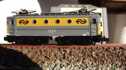 SCALA N ECHELLE - LOCO ELETTRICA MINITRIX 2069 - ELLOK 1127 NS -. N SPUR - Locomotives