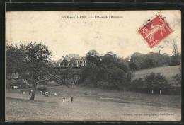 CPA Joué-en-Charnie, Le Chateau De L'Hommois - France