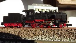SCALA N ECHELLE - LOCO Minitrix 12027 Dampflok Br. 24 058 Der DR. N SPUR - Locomotives