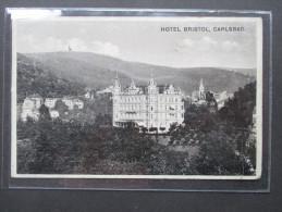 12. 10. 1938 Hotel Bristol, Carlsbad. Karlsbad. Sudetenland! Der Führer In Karlsbad. Der Jubel Hier War Grenzenlos! - Sudeten