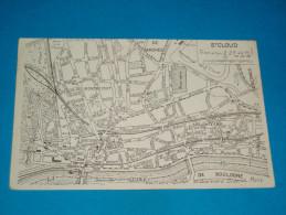 92 ) Saint-cloud - Carte Géographique - Plan Des Rues  - Année  - EDIT : - Saint Cloud