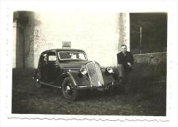 Automobile A Identifier,immatricule Dans Le Rhone   (bon Etat) Dim: 9 X 6. - Automobili