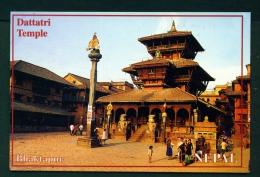 NEPAL  -  Bhaktapur  Dattatri Temple  Used Postcard As Scans - Nepal