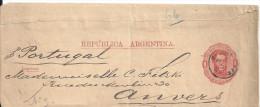 ARGENTINE - Entier Postal - 5 JANV 89 BUENOS AIRES - Argentine