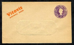 GB Postal Stationery Envelope STO  ES80 Private Overprint Vitovis Animal Feed Unused (Z666) - Stamped Stationery, Airletters & Aerogrammes