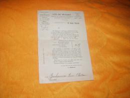 AVIS DE DECISION DE 1900. / DIRECTION GENERALE DES CONTRIBUTIONS DIRECTES. / DEPT. PUY DE DOME. COMMUNE A LARODDE. - Vieux Papiers