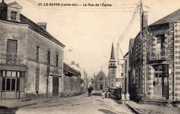 LE GAVRE - La Rue De L'Eglise - Le Gavre