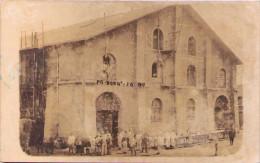 """Bordeaux - Soldats Devant Un Bâtiment Portant L'inscription """"PG BORDX PO 1917 - Carte-photo - Guerre 1914-18"""