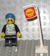 279/304  LEGO COSTRUZIONI PALO SHELL DISTRIBUTORE BENZINA 2X2 - Lego System
