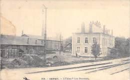 IMPHY 58 - L'Usine Et Les Bureaux ( Voie Ferrée A Proximité )- CPA - Nièvre ( Industrie Entreprise Société ) - Frankreich