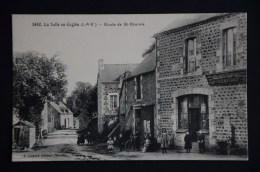 LA SELLE EN COGLES Route St Etienne Débitant JOLIVET RAPINEL - France
