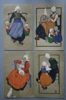 SERIE 10 CPA M M VIENNE N° 190 Dessin Mère Enfants - 1900-1949
