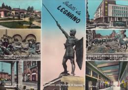 7609-SALUTI DA LEGNANO(MILANO)-FG - Saluti Da.../ Gruss Aus...