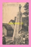 CPA  LEC H De GROANEC H COZ  Menhir Retaillé Surmonté D Une Croix - France