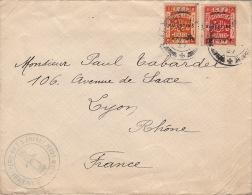 1927- Lettre Palestine Bethlehem EEF Pour La France >> Archiconfrérie Du T.S Enfant Jesus - Palestine