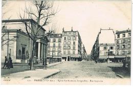 PAIS XVII EGLISE STE MARIE DES BATIGNOLLES RUE LEGENDRE - Arrondissement: 17