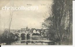 Carte Postale : Molay - Le Pont - France